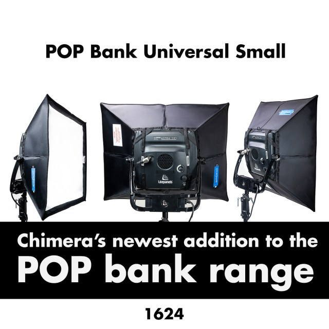 Chimera adds a new lightbank to its POP bank range
