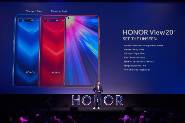 HONOR View20 sets new smartphone standards with world's first technologies