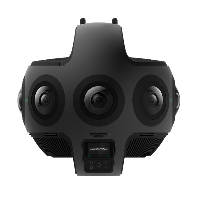 Insta360 announces eight-lens VR camera, Insta360 Titan