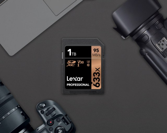 Lexar announces 1TB 633x SDXC UHS-I card, the behemoth of storage capacity