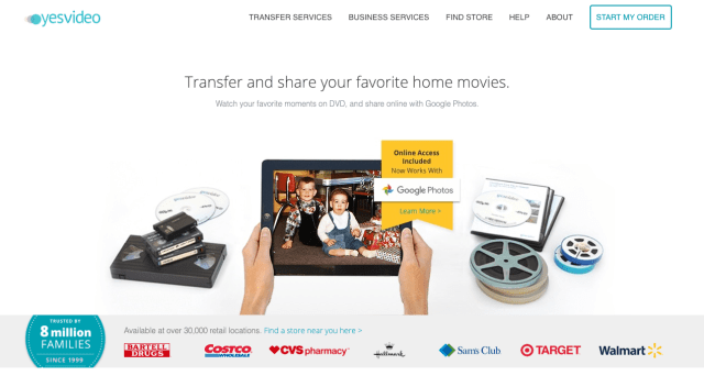Your old family memories with new ones, all in one place