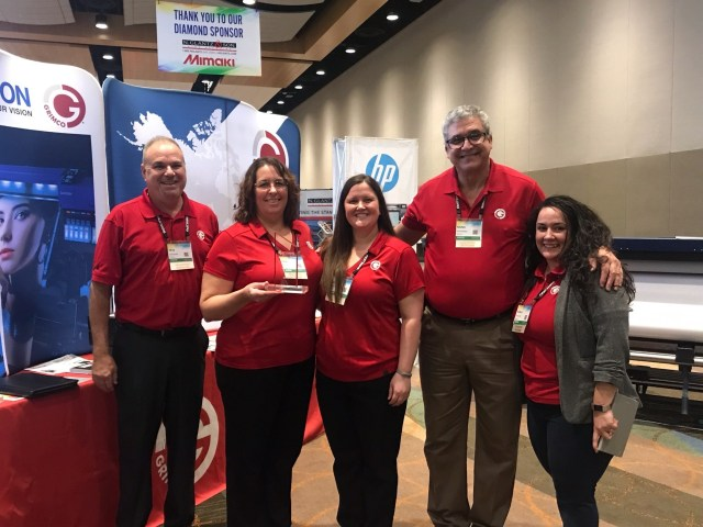 FASTSIGNS International, Inc. names Grimco vendor of the year