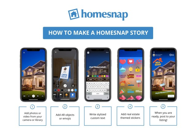 Homesnap introduces Homesnap Stories video marketing feature
