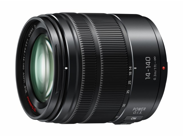 LUMIX G 14-140mm* Telephoto Zoom Lens for Micro Four Thirds System undergoes update