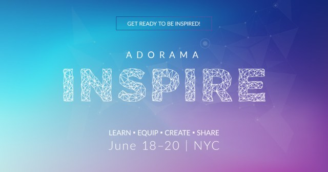 Adorama INSPIRE is back with an even bigger all-star lineup