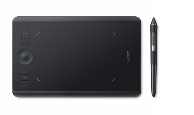 Wacom introduced a new Intuos Pro pen and touch tablet