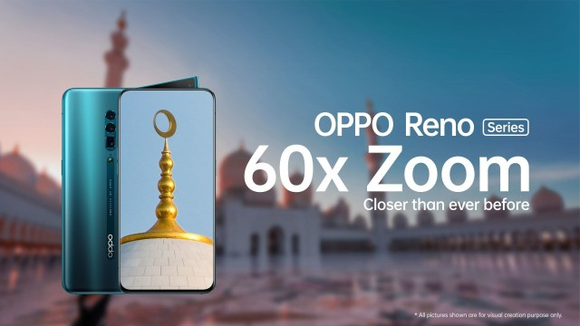 OPPO to launch three-lens Reno smartphone with 60x digital zoom in UAE