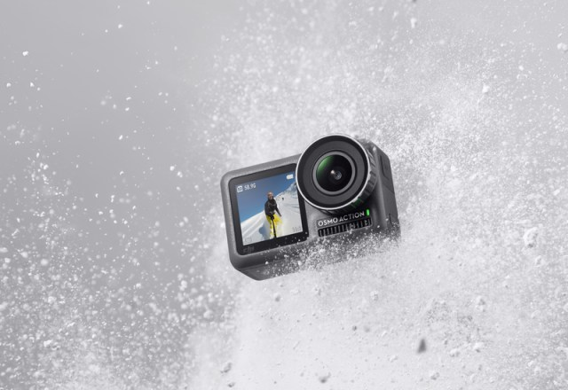 DJI debuts 4K Osmo Action Camera