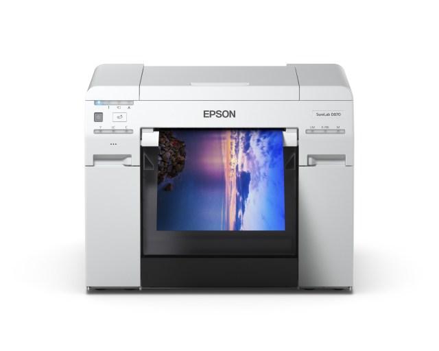 Epson launches SureLab D870 Minilab Photo Printer