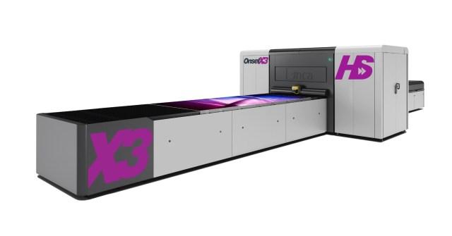 Fujifilm, Inca Digital announce OnsetX HS fast flatbed printers