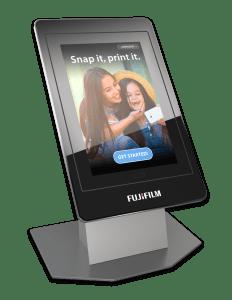 Fujifilm GetPix Quick kiosk countertop configuration