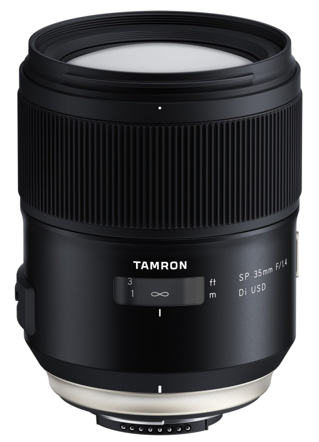 Tamron announces fast-fixed focal SP 35mm F/1.4 Di USD