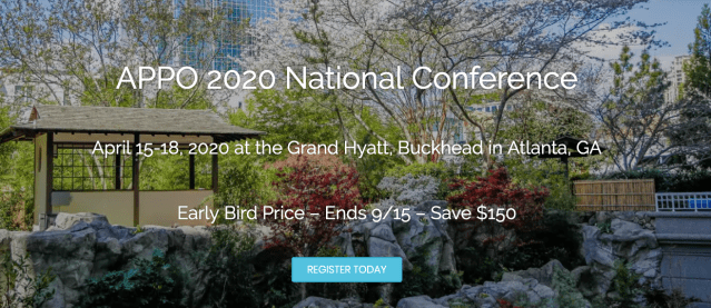 APPO 2020 National Conference