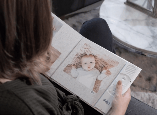 Audiocaption keeps memories alive by bringing photo books to life with audio