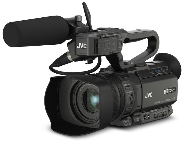 JVC upgrades GY-HM250 camcorder Facebook Live streaming