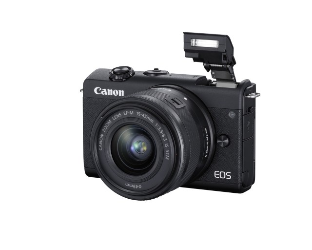 Canon introduces Canon EOS M200 mirrorless camera