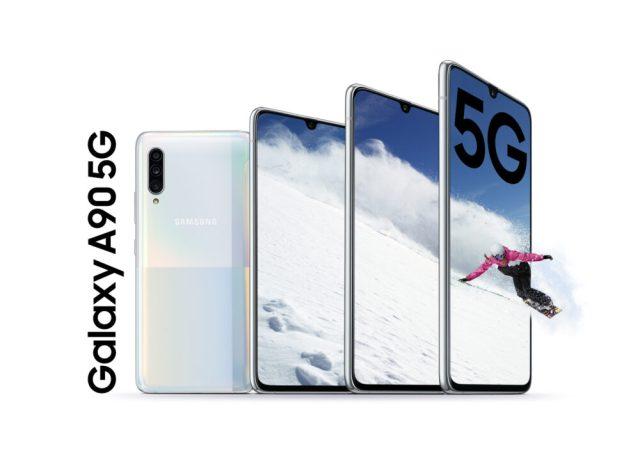 Samsung debuts Galaxy A90 5G
