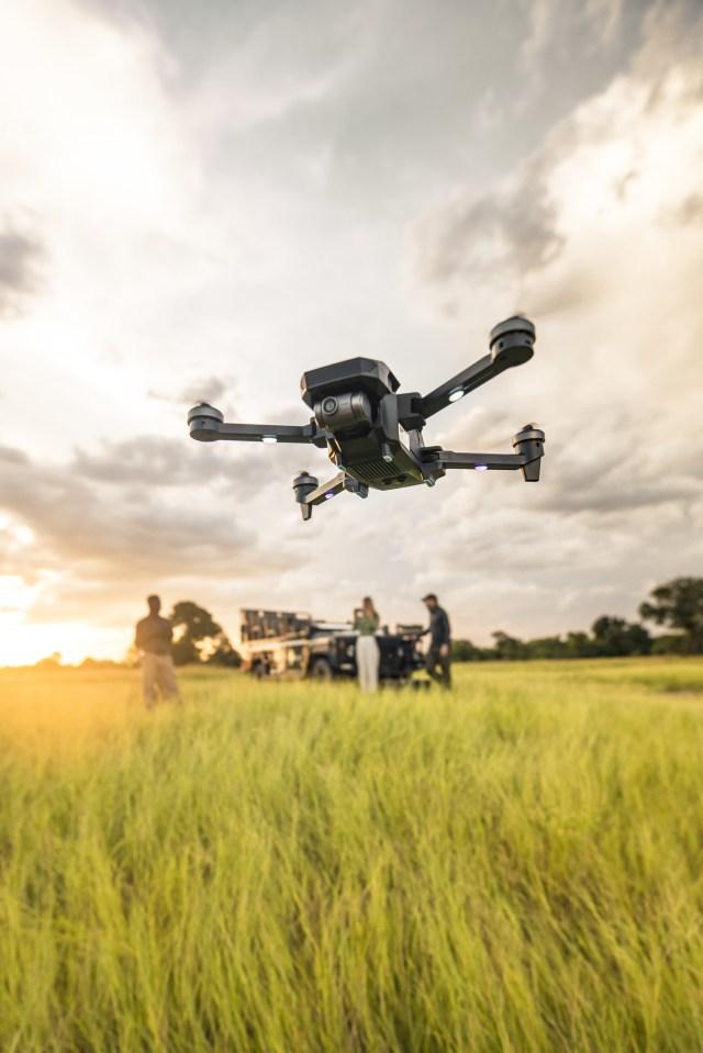 Yuneec debuts Mantis G 4K camera drone