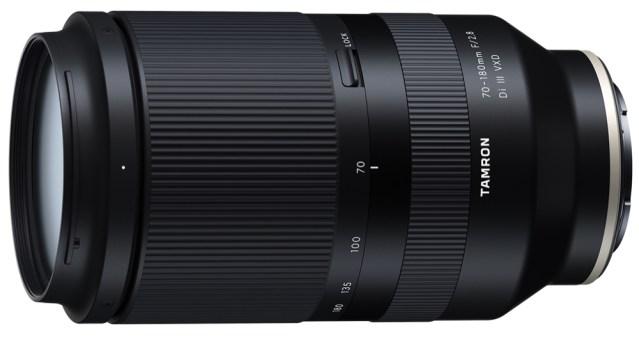 Tamron announces three prime lenses for Sony; development of high-speed telephoto