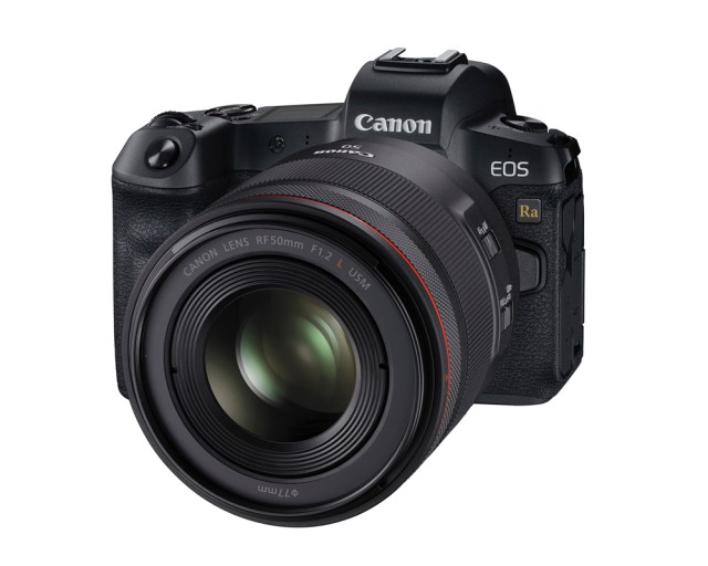 Canon debuts full-frame mirrorless camera, EOS Ra, for astrophotography