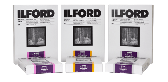 Ilford announces new Multigrade paper, Ortho film and developing kit