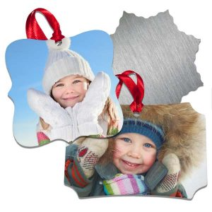 MailPix aluminum ornaments