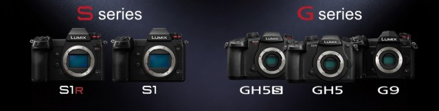Panasonic releases firmware update programs for the LUMIX S1R, S1, GH5, GH5S and G9