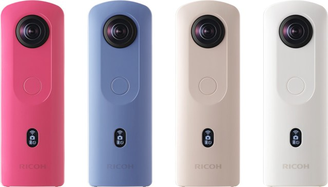 Ricoh updates 360-degree camera, THETA SC2