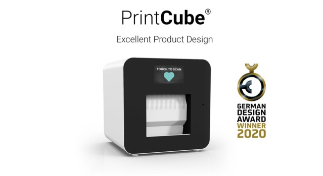 PrintCube receives the German Design Award 2020