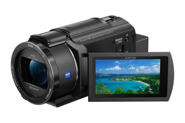 Sony launches compact 4K Handycam camcorder