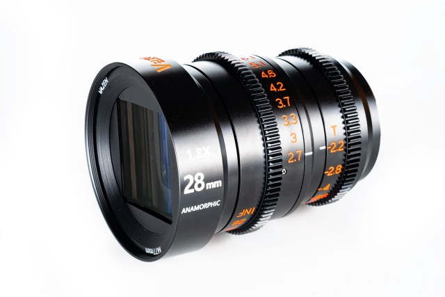 Vazen launches the 28mm t/2.2 1.8x Anamorphic Lens  for Micro Four Thirds cameras