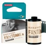 Lomography debuts Fantôme Kino B&W ISO8 35mm film