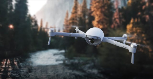 PowerEgg X is a drone/camera powered by AI