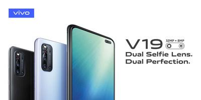 vivo V19 ups selfie capabilities with dual front lenses