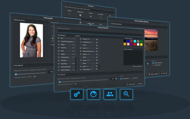 Excire Foto AI-based photo management software released in the United States
