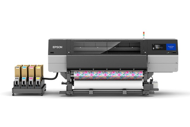 Epson unveils i76-Inch industrial dye-sublimation textile printing solution