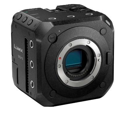 Panasonic debuts box-style mirrorless cinema/event camera