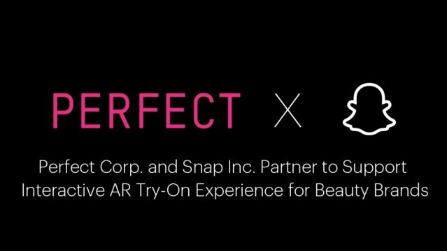 Perfect Corp., Snap partner for AR beauty experience