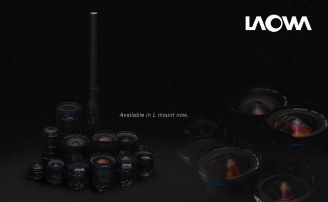 Venus Optics announces four L-mount lenses