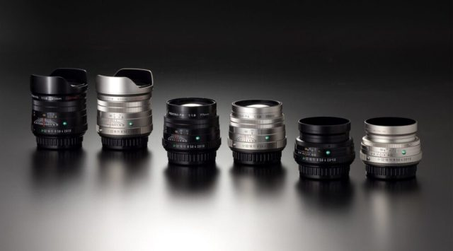 Ricoh announces three HD PENTAX-FA limited edition prime lenses