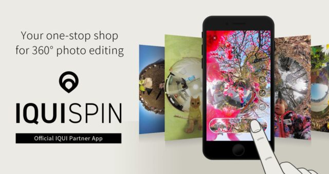 Vecnos updates IQUISPIN app to easily browse 360-degree content
