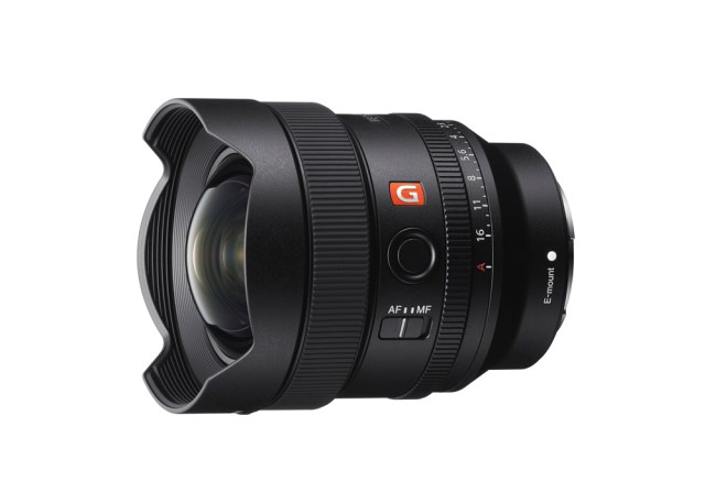 Sony Electronics debuts ultra-wide 14mm f1.8 prime lens
