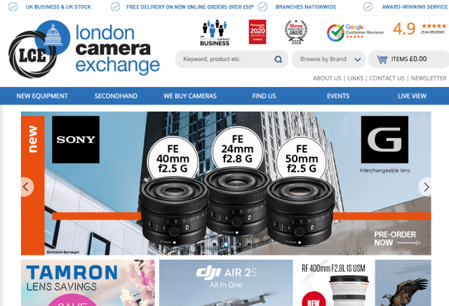 London Camera Exchange becomes employee-owned company