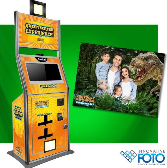 Innovative FOTO photo booths add greenscreen