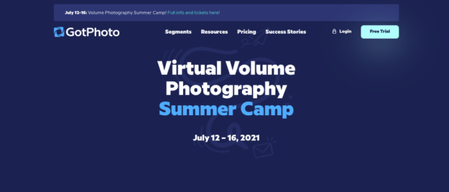 GotPhoto announces second edition of virtual Volume Photography Summer Camp