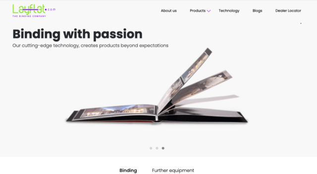 Layflat.com updates website to accommodate expanding business