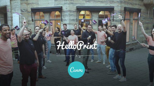 European online print marketplace HelloPrint adds Canva integration