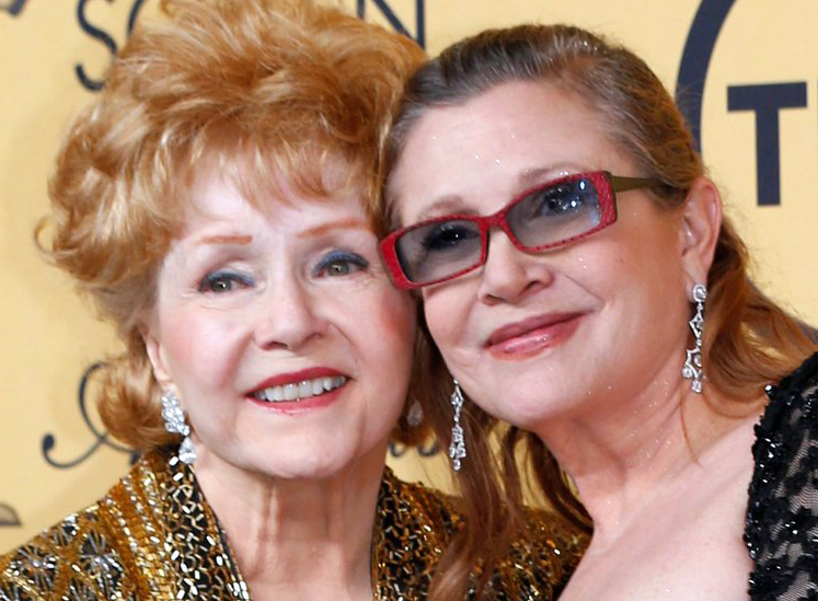 The Family Of Debbie Reynolds And Carrie Fisher Are Reportedly Planning A Joint Memorial Service Singin In Rain Star 84 Died From Suspected
