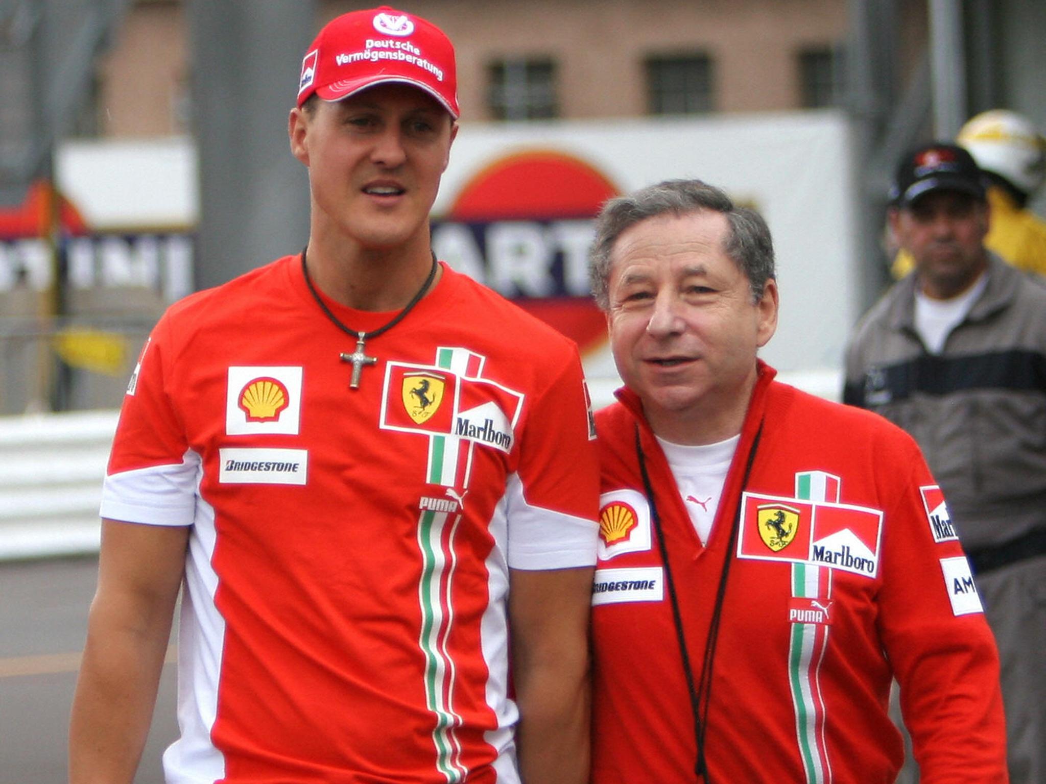 Rip Michael Schumacher