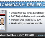 30 day free trial with chat for Canadian Dealers
